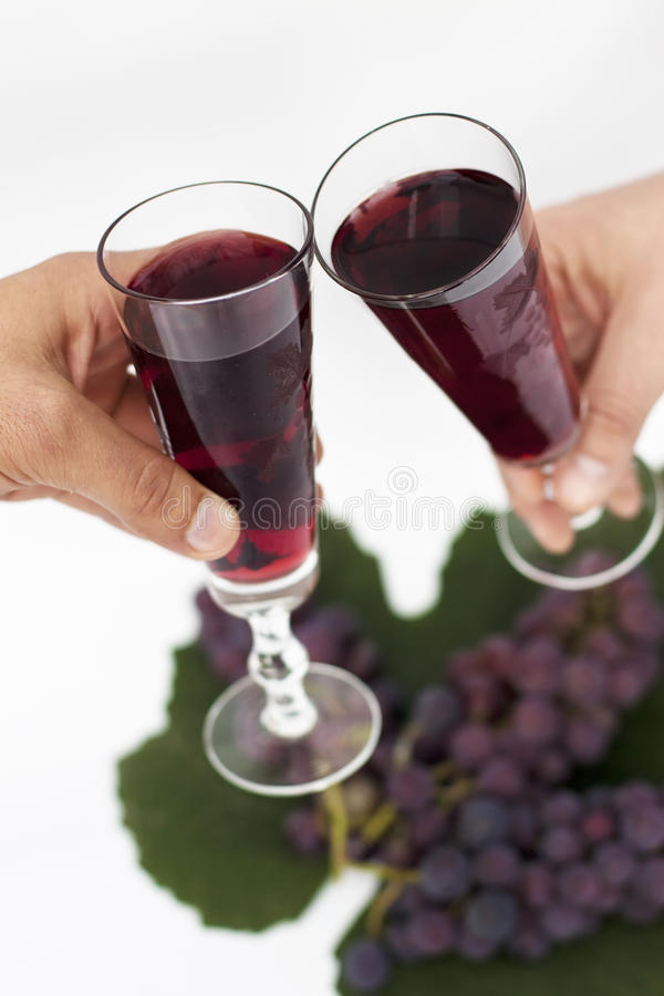 Free Two Wine Glasses Royalty Free Stock Photography - 16672387