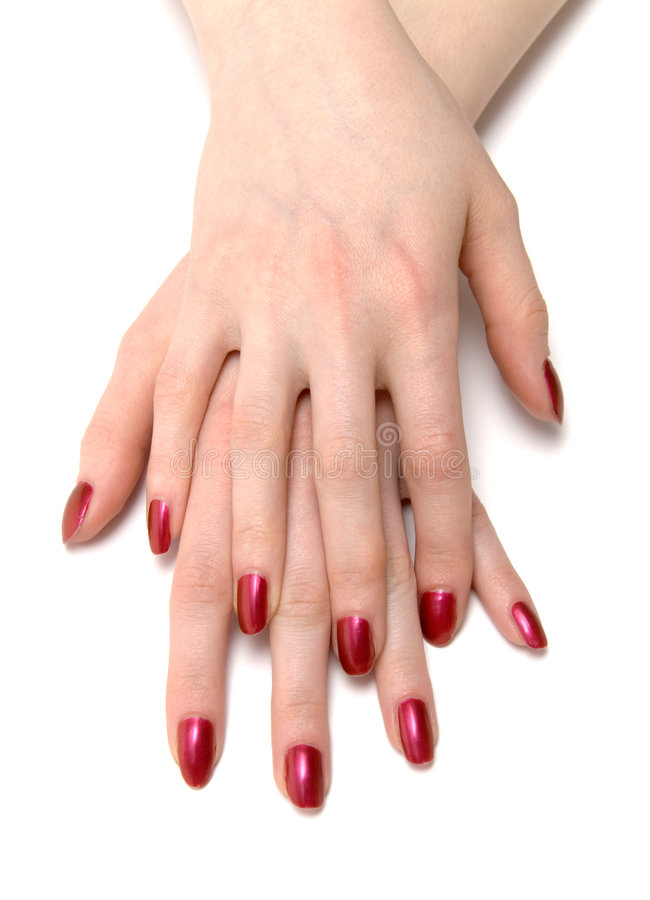 Download Two woman hands stock photo. Image of human, front, close - 2260606