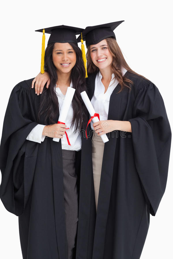 Download Two Women Embracing Each Other After They Graduated From Univers Stock Image - Image: 25335985