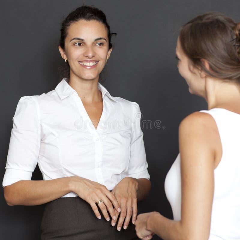 Download Two women happy stock photo. Image of hispanic, felicitate - 23738120