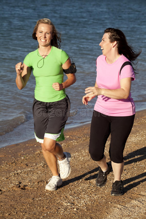 Download Two Women Jogging Royalty Free Stock Images - Image: 15178439