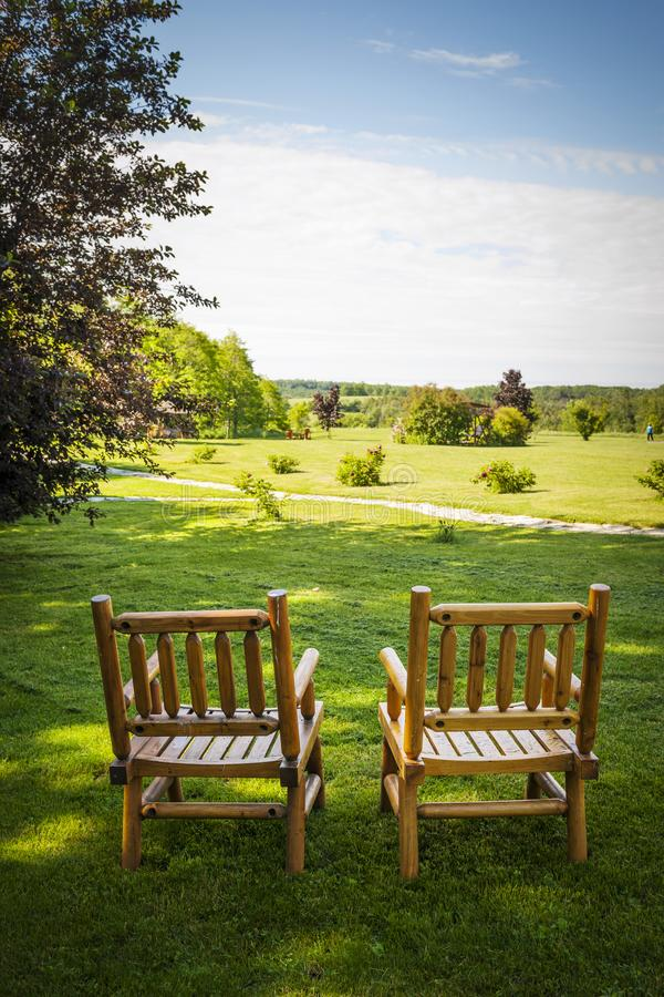 Summer relaxing royalty free stock photography