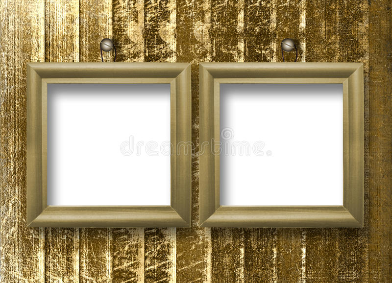 Download Two Wooden Frameworks For Portraiture Stock Images - Image: 10856024