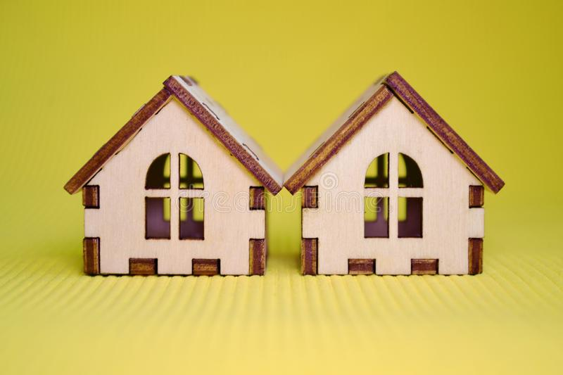 Toy House With Green Roof Stock Photo Image Of Sell