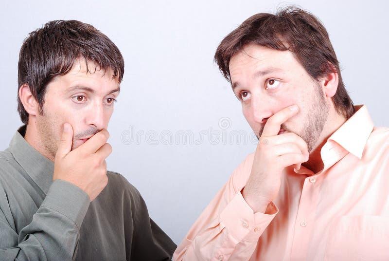 Two worried men