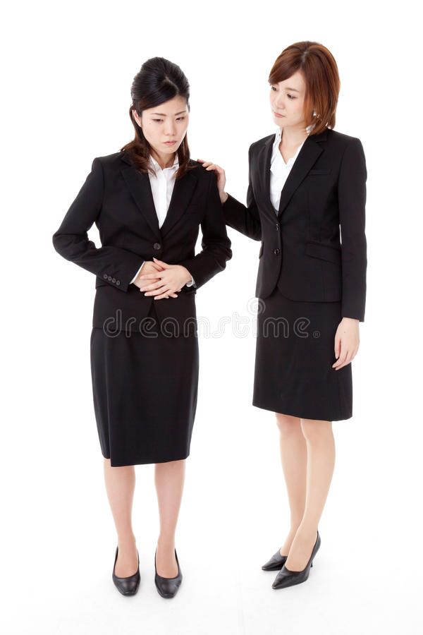Two Young Business People Royalty Free Stock Photography