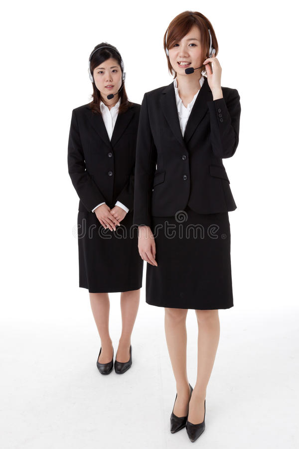 Download Two young business people stock image. Image of female - 28327157