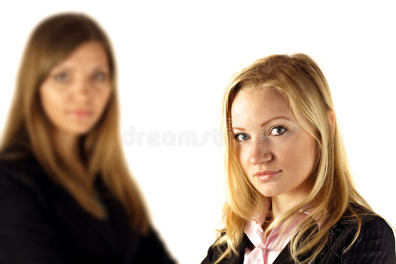 Download Two young businesswomen stock image. Image of long, professional - 2242657
