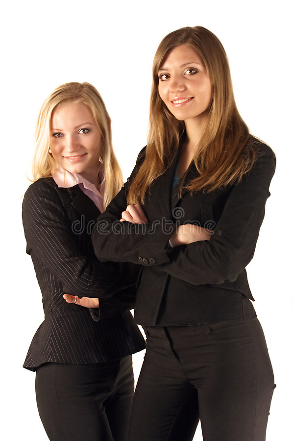 Download Two young businesswomen stock image. Image of professionals - 2247313