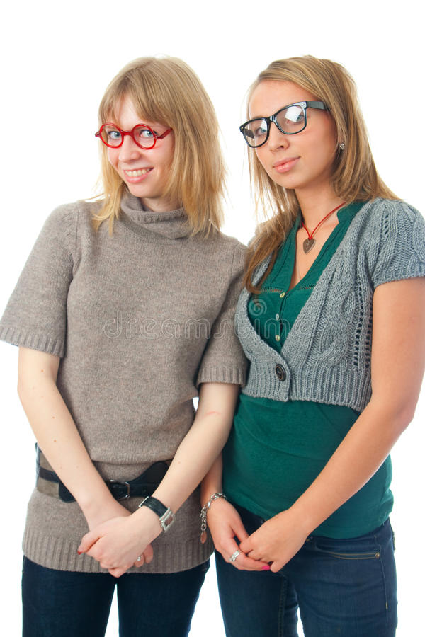 Download The Two Young Glamour Girls Stock Photo - Image: 13299112
