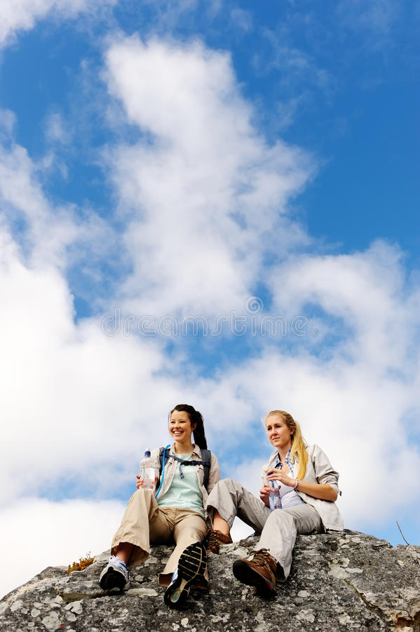 Download Two Young Hikers In The Great Outdoors Stock Photos - Image: 22775283