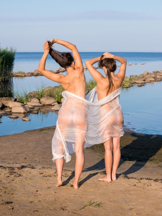 Naked young Naturism