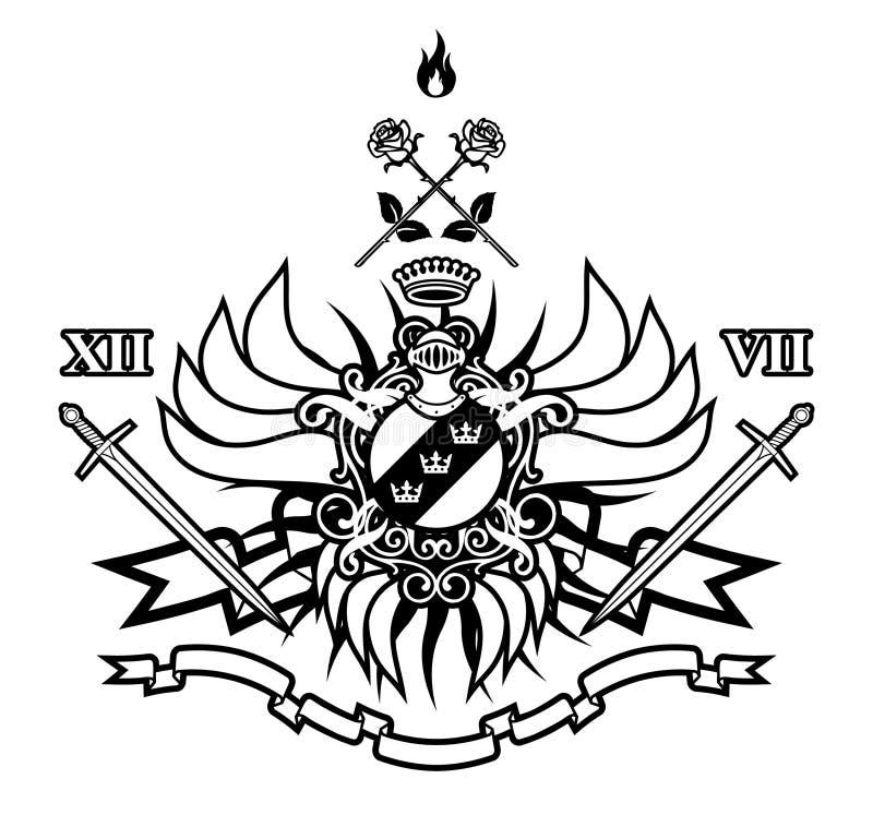 twoje królestwo royalty ilustracja