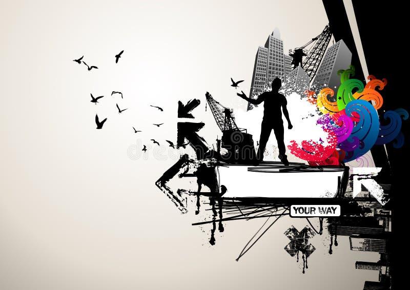 twoje miejskie ilustracji