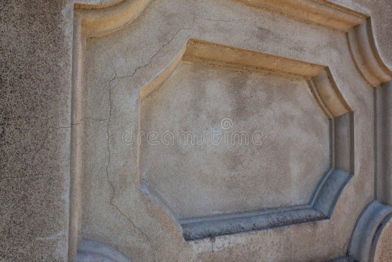 Tworzący betonowy zewnętrzny ściennego panelu szczegół obrazy stock