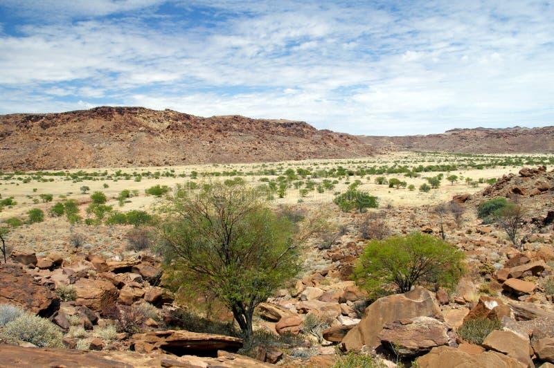 Twyfelfontein w Namibia, Afryka zdjęcia royalty free