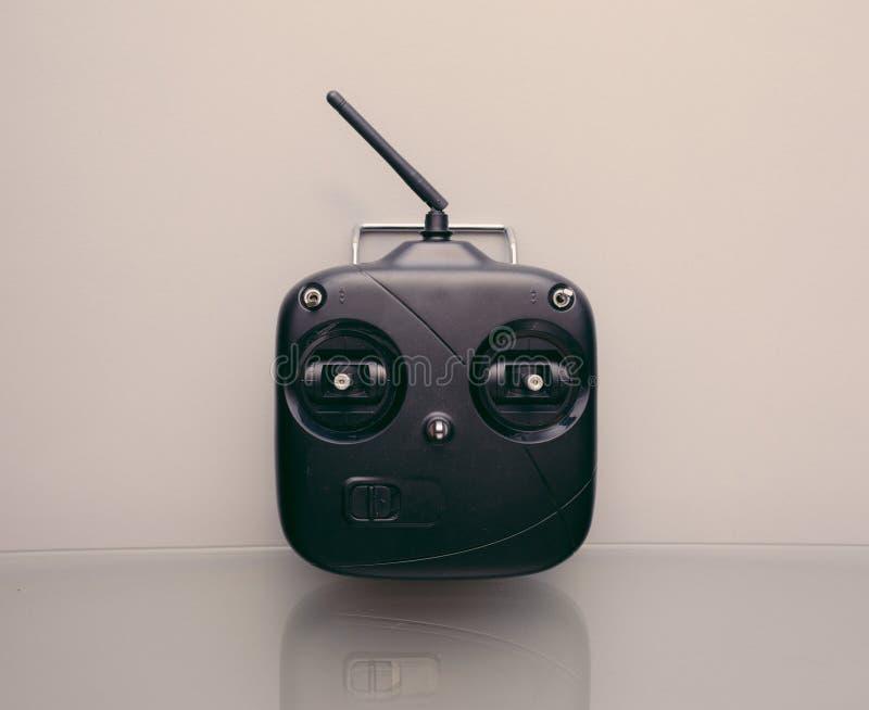Tx modèle par radio d'émetteur de contrôleur de rc images libres de droits