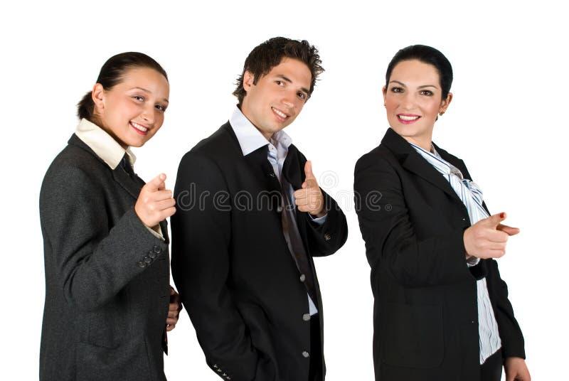 ty biznesów punktów ludzie jeden zdjęcia stock