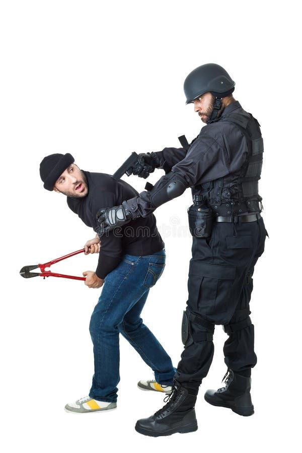 Ty jesteś pod aresztem obrazy stock