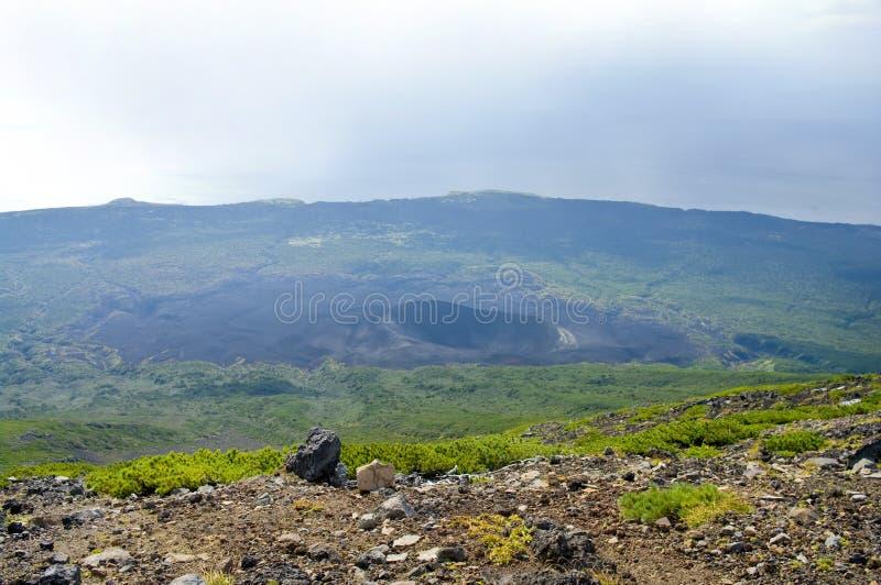 Tyatya volcano royalty free stock photography