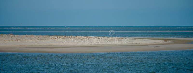 Tybee ö nära platser för savannahgeorgia strand royaltyfria foton