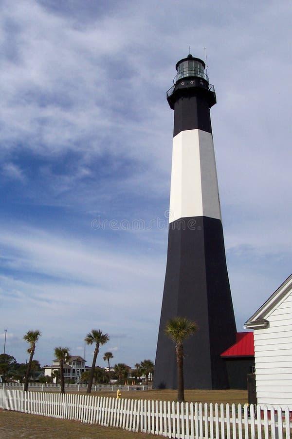 Download Tybee Insel-Leuchtturm stockbild. Bild von verschiffen, marine - 29281