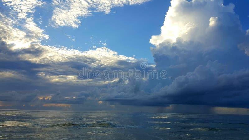 Tybee Island Georgia Sunrise stock photography