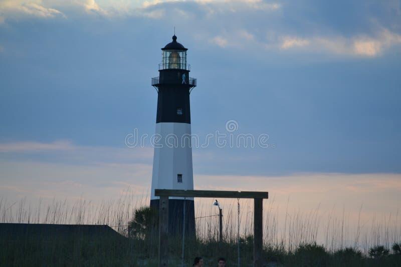 Tybee Island Lighthouse fotografía de archivo