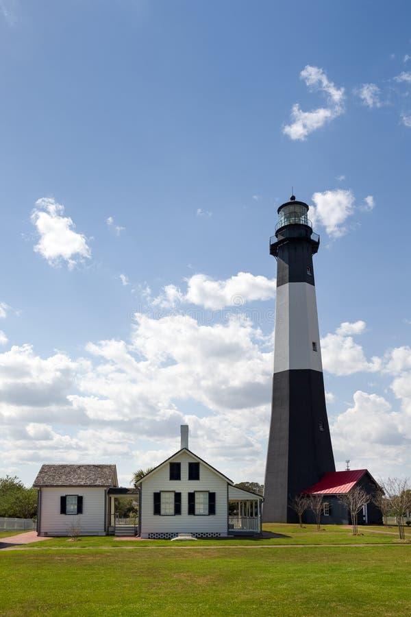 Tybee Island Lighthouse fotografia stock