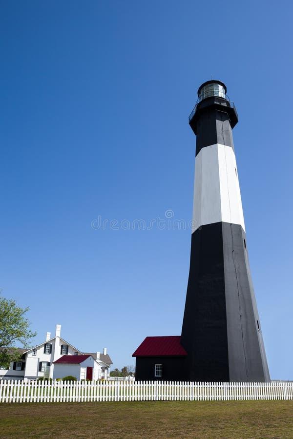 Tybee Island Lighthouse immagini stock