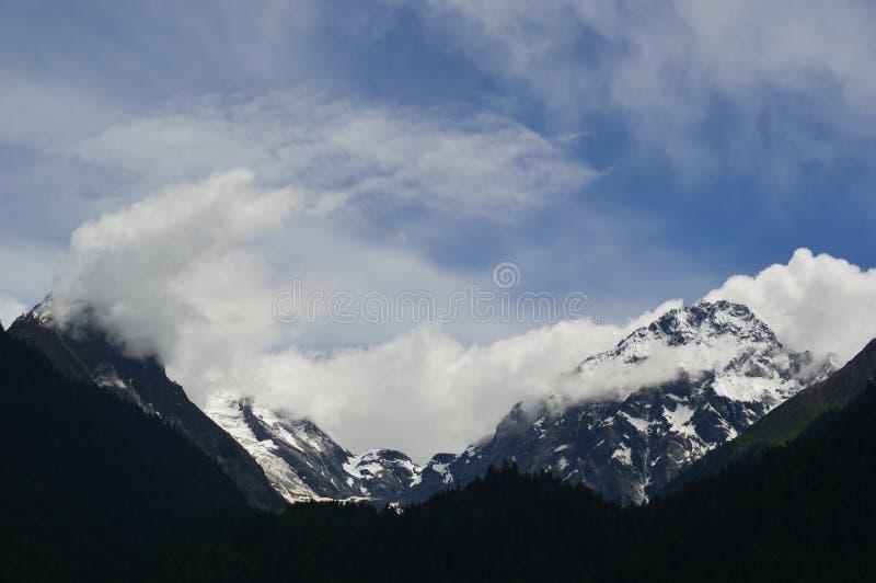 Tybet śniegu góra zdjęcia stock