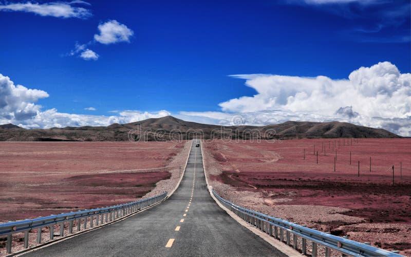 Tybet sceneria fotografia stock