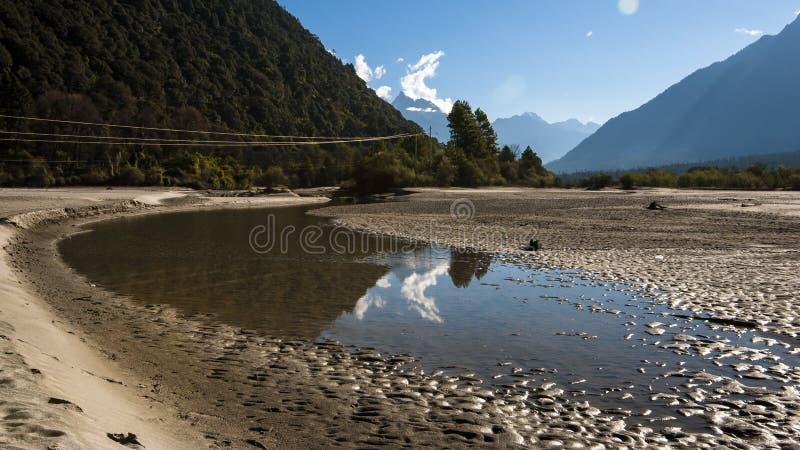 Tybet sceneria zdjęcie stock