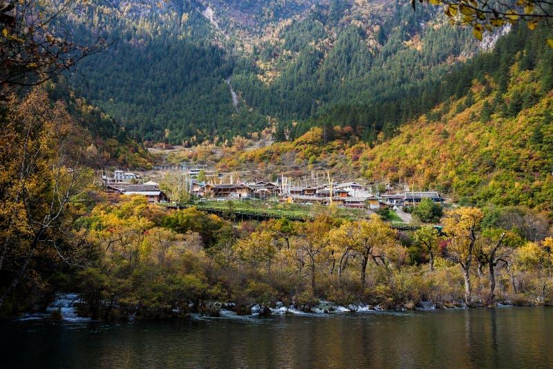 Tybetańska wioska zdjęcia stock