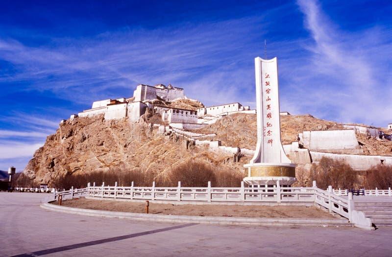 Gyantse Tybet fotografia stock