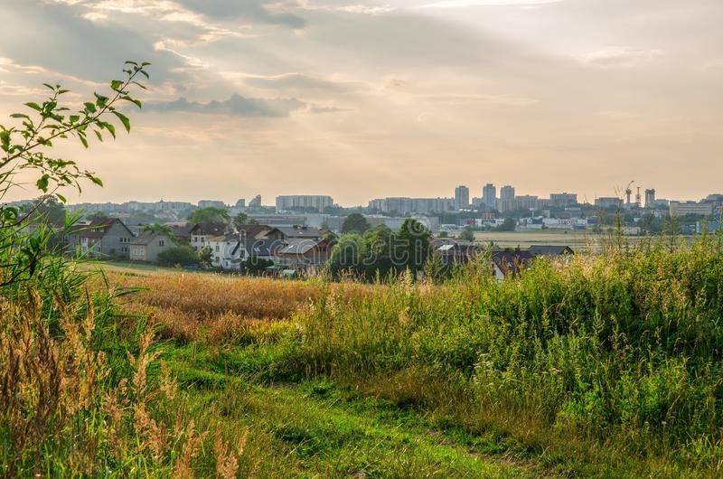 Tychystad, Polen stock foto's
