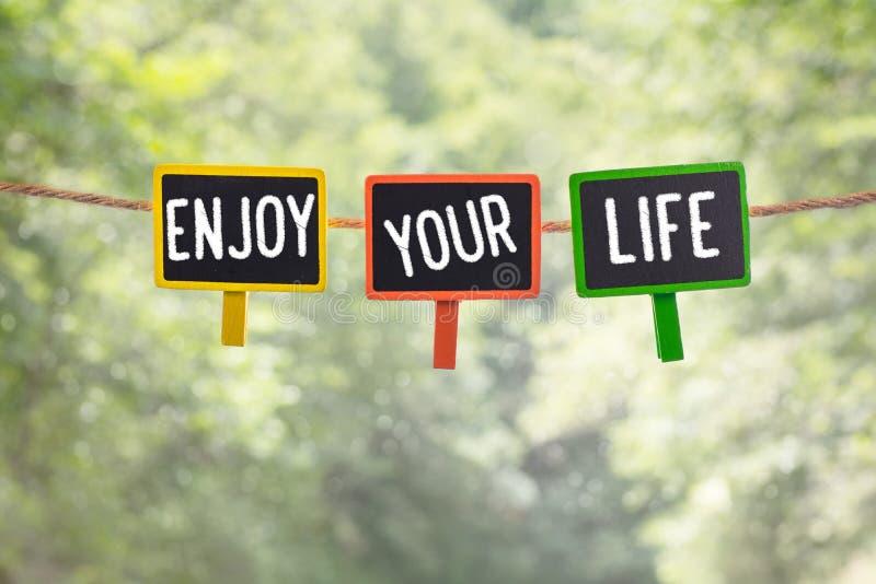 Tyck om ditt liv ombord arkivbilder