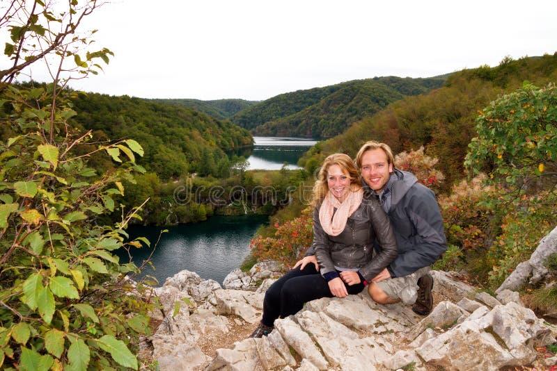 Tycka om Plitvice royaltyfria foton