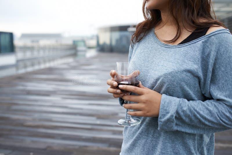 tycka om wine fotografering för bildbyråer