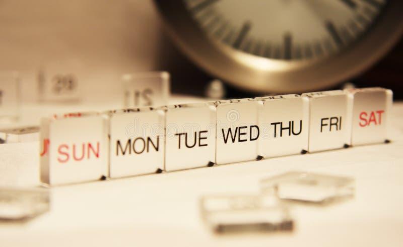 tydzień zdjęcia stock