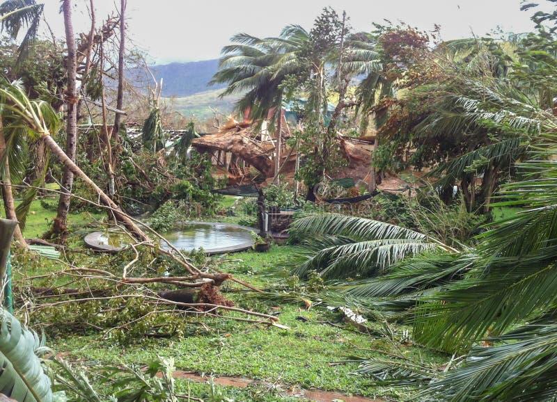 Tyfoon Yolanda Haiyan 2013 royalty-vrije stock fotografie