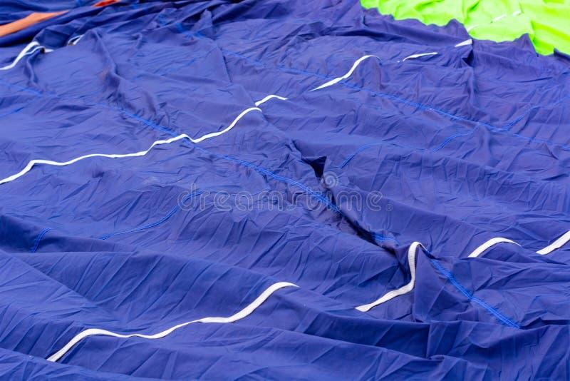 Tyg och remmar för ballong arkivbilder