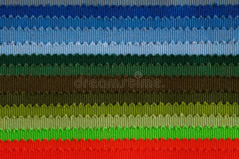Tygfärgprövkopior arkivbilder