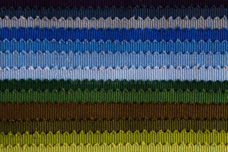 Tygfärgprövkopior arkivfoton