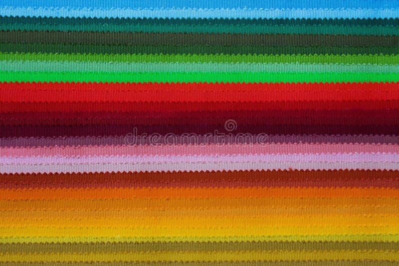 Tygfärgprövkopior royaltyfria foton