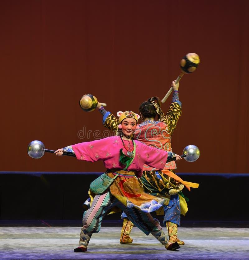 """Tygrysów Children Pekin Opera""""Yue teenager†kierowniczy  fotografia royalty free"""
