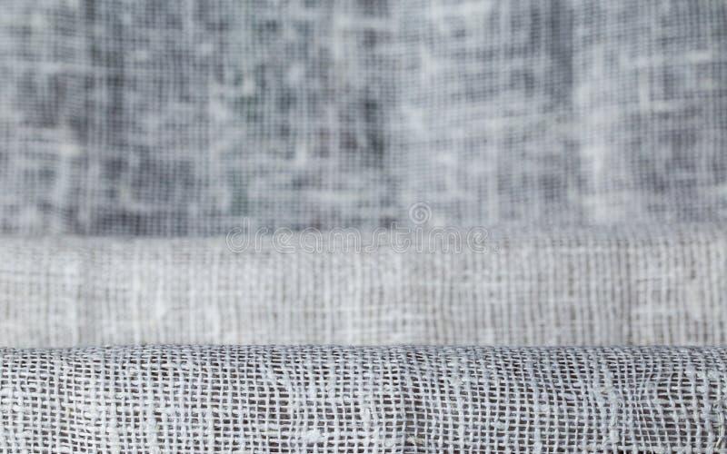 Tygtextur, torkduk stack bakgrund fotografering för bildbyråer