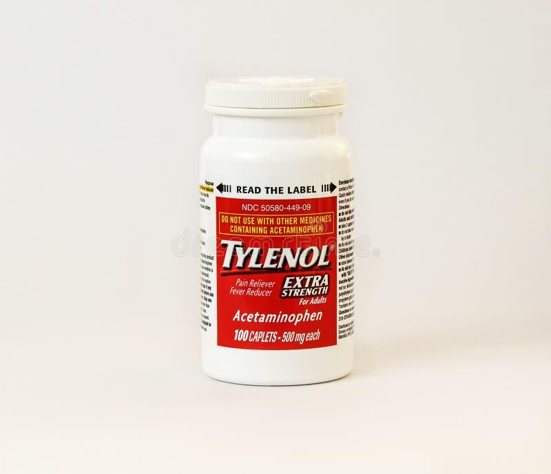 tylenol 免版税库存图片