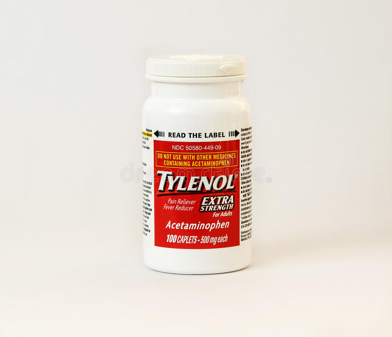 Tylenol royalty free stock images