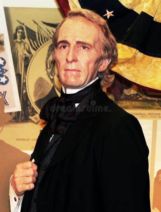 tyler президента john стоковые изображения